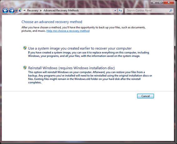 Windows  Backup and Restore 11